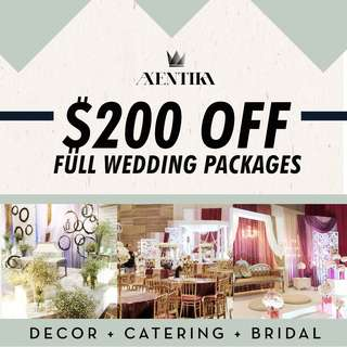 $200 OFF FULL WEDDING PACKAGE