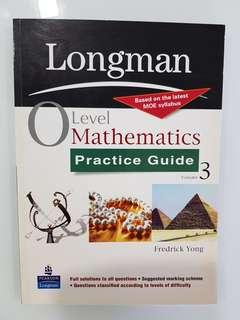 Longman O Level Math Practice Guide Vol 3