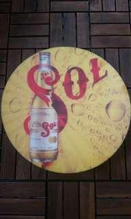 Beer signage
