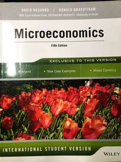 Microeconomics Fifth edition