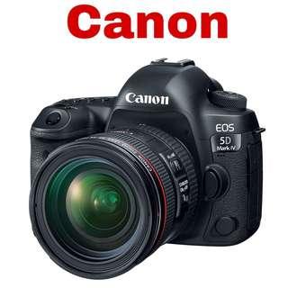 Canon 5D IV (EF 24-70mm F4) DSLR Camera