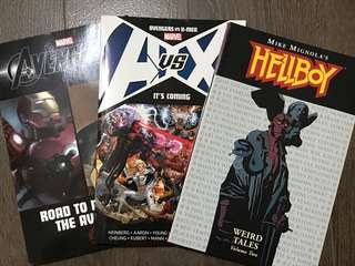 Comics Book Marvel Avengers HellBoy