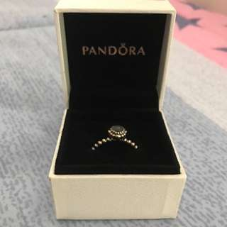 Authentic Pandora Sterling Silver Moonstone