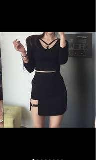 [PO] Sexy Women's Skirt Mini Asymmetrical Skirt