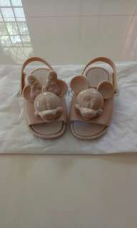 Mini Melissa Mickey & Minnie Sandals s7
