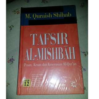 Tafsir mishibah - M.  Quraish Shihab