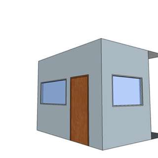 Partition wall (external and internal