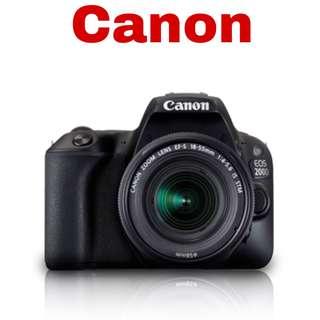 Canon 200D (EF-S 18-55mm) DSlR Camera