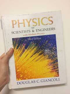 Physics Textbook For Scientists and Engineers
