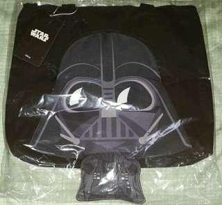 Star Wars《俠盜一號 星球大戰外傳》- Cosbaby 黑武士拉鍊購物袋 (全新)