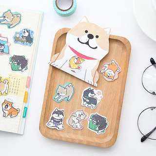 Kawaii Dog Sticker Pack