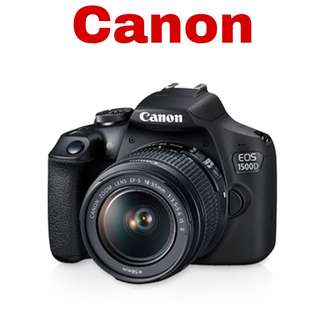 Canon 1500D (EF-S 18-55mm) DSLR Camera