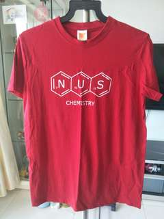 NUS Chemical Sciences Society Chemistry shirt