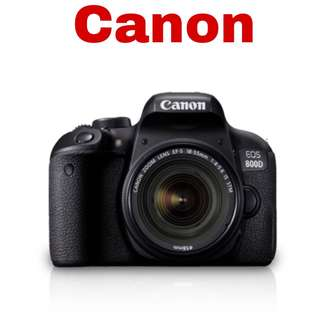 Canon 800D (EF-S 18-55mm) DSLR Camera