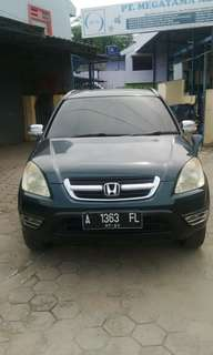 HONDA CRV TYPE 2.0 AT Terima Cash/Credit