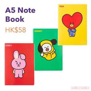 [韓國現貨]BT21 Note Book