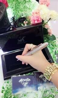 Lumiere diamond ball pen