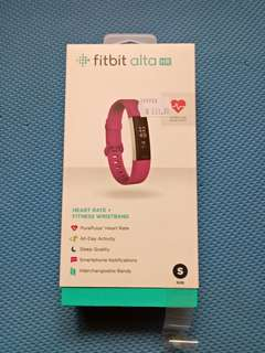 Fitbit Alta HR size S