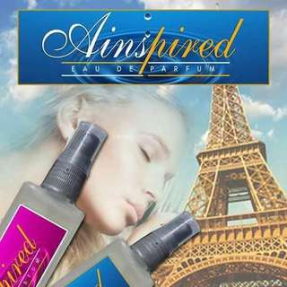 AINSPIRED  FRENCH OIL BASED PERFUME