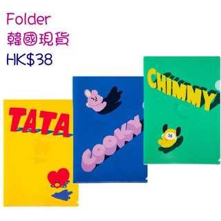 [韓國現貨]BT21 A4 Folder