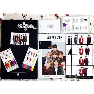 [INDIVIDUAL ITEMS] BTS 4th Army Membership Kit