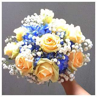Bridal Bouquet - Fresh flowers