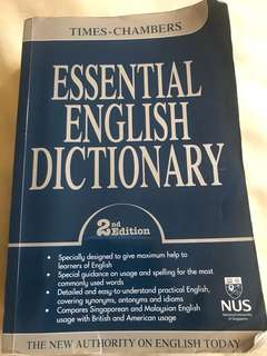English Dictionary Times-Chambers NUS