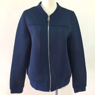 🚚 PC免運 古著 復古 太空棉 藍色外套