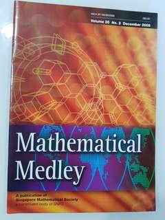 Mathematical Medley Volume 35 No. 2
