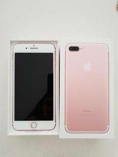 New iPhone 7plus 256gb Rose Gold