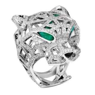 panthere diamond rings