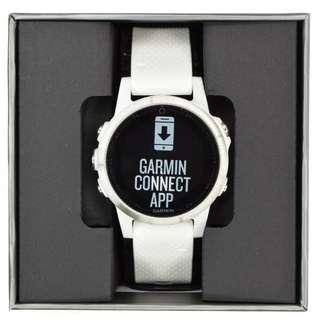 Garmin Fenix 5s White with 4 free straps