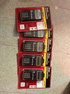 Texas Instruments BA ii Plus Financial Calculator 金融計算機 cfa frm