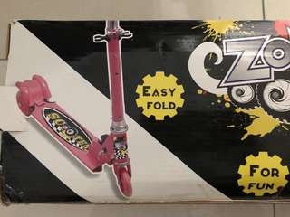 Folding scooter Zone 1 (Pink)