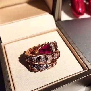 Serpenti Diamond Ring