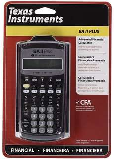 Texas Instruments BA ii Plus Financial Calculator 金融計算機 cfa frm soa