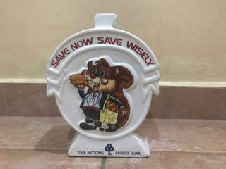 Your national saving bank , save now save wisely