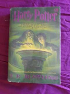 Buku novel harry potter dan pangeran berdarah campuran