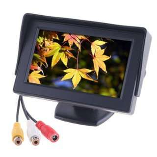 "[PO536]4.3"" TFT LCD Car Monitor Reverse Rearview Color Camera"