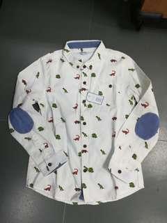 New Boys Dinosaur Shirt