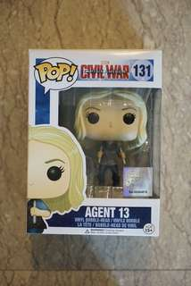 Funko Pop Marvel Civil War Agent 13