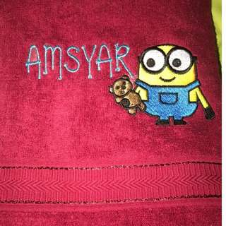 Customise Towel (Minion)