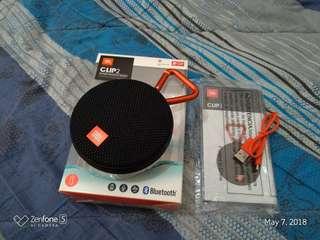 JBL Clip2 Waterproof Bluetooth Speaker ip67 7hrs Playback Bnew