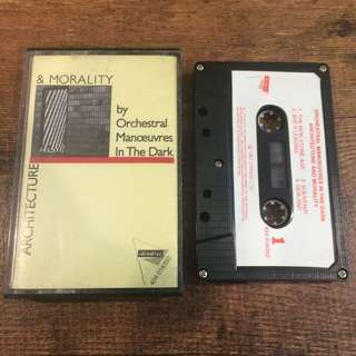 OMD - architecture n morality tape