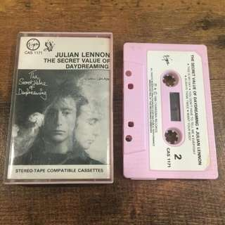 Julian lennon - the secret value of daydreaming tape