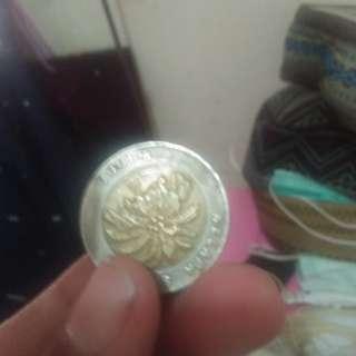 Uang koin 1000 kelapa sawit  Terawat