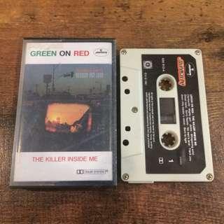 Green on red - the killer inside me tape