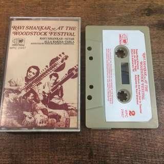 Ravi shankar - at the woodstock festival tape
