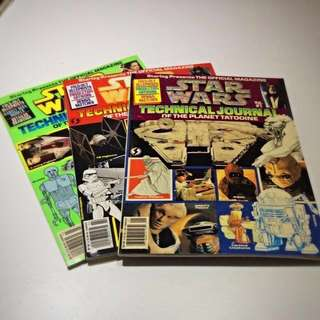 Star Wars vintage softcover books And magazines