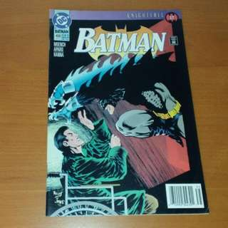 Vintage DC Comics, Batman Knightfall